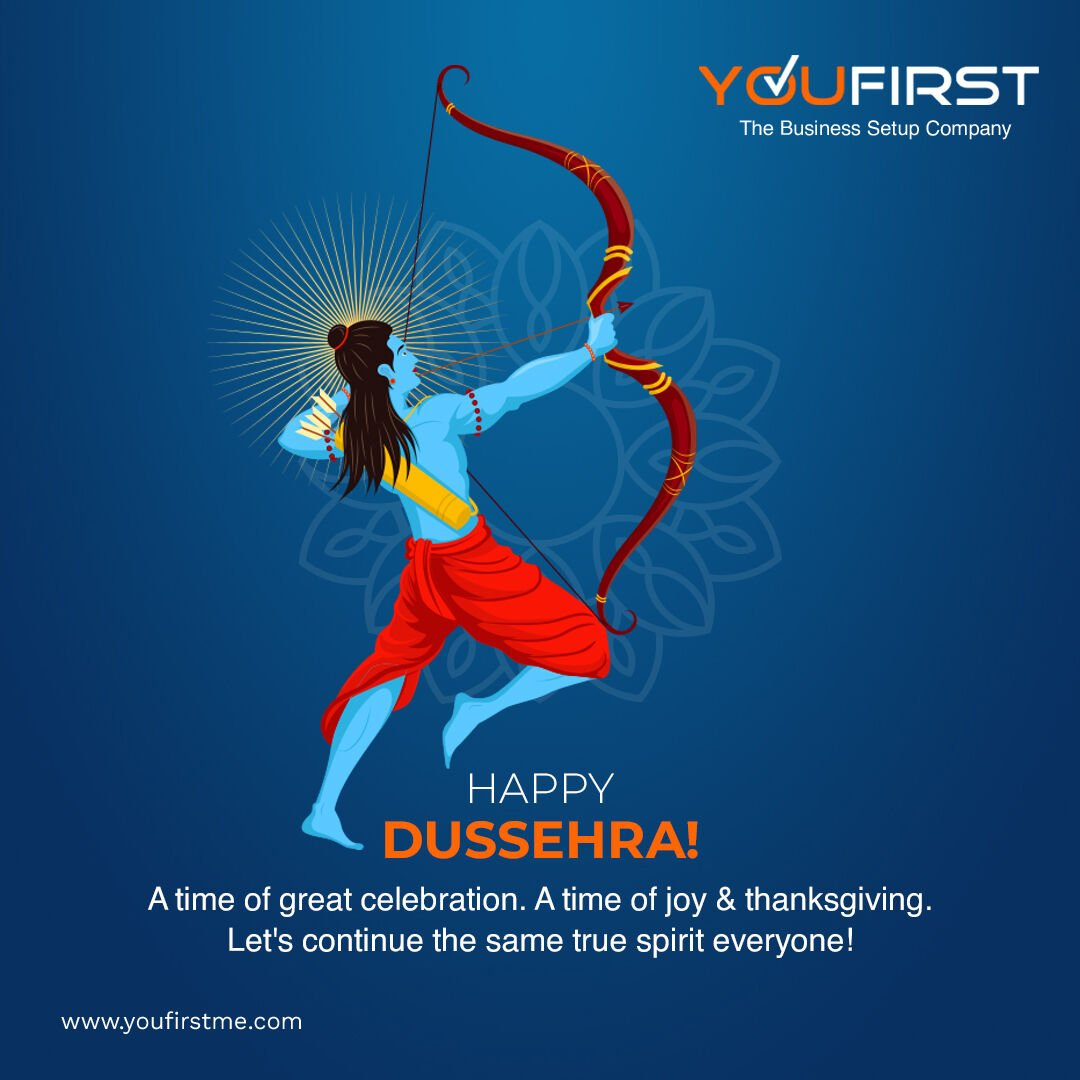 """Sending warmest greetings for you & your family on this auspicious occasion of Dussehra. Happy Dussehra everyone!  #dussehra #india #navratri #festival #happydussehra #dussehraspecial #durgapuja #youfirstdubai """