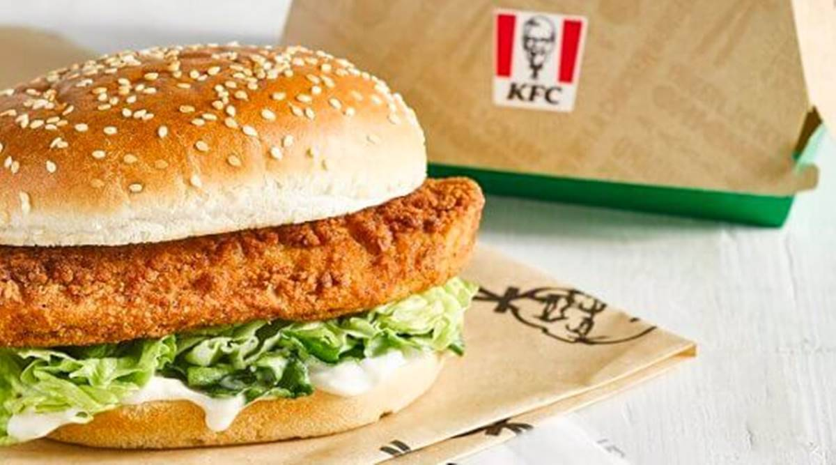 KFC burger wins Best Vegan Chicken award at PETA annual Vegan Food Awards https://t.co/MIGOGMJywi via @indianexpress #lifestyle https://t.co/oMPN5dvpdI