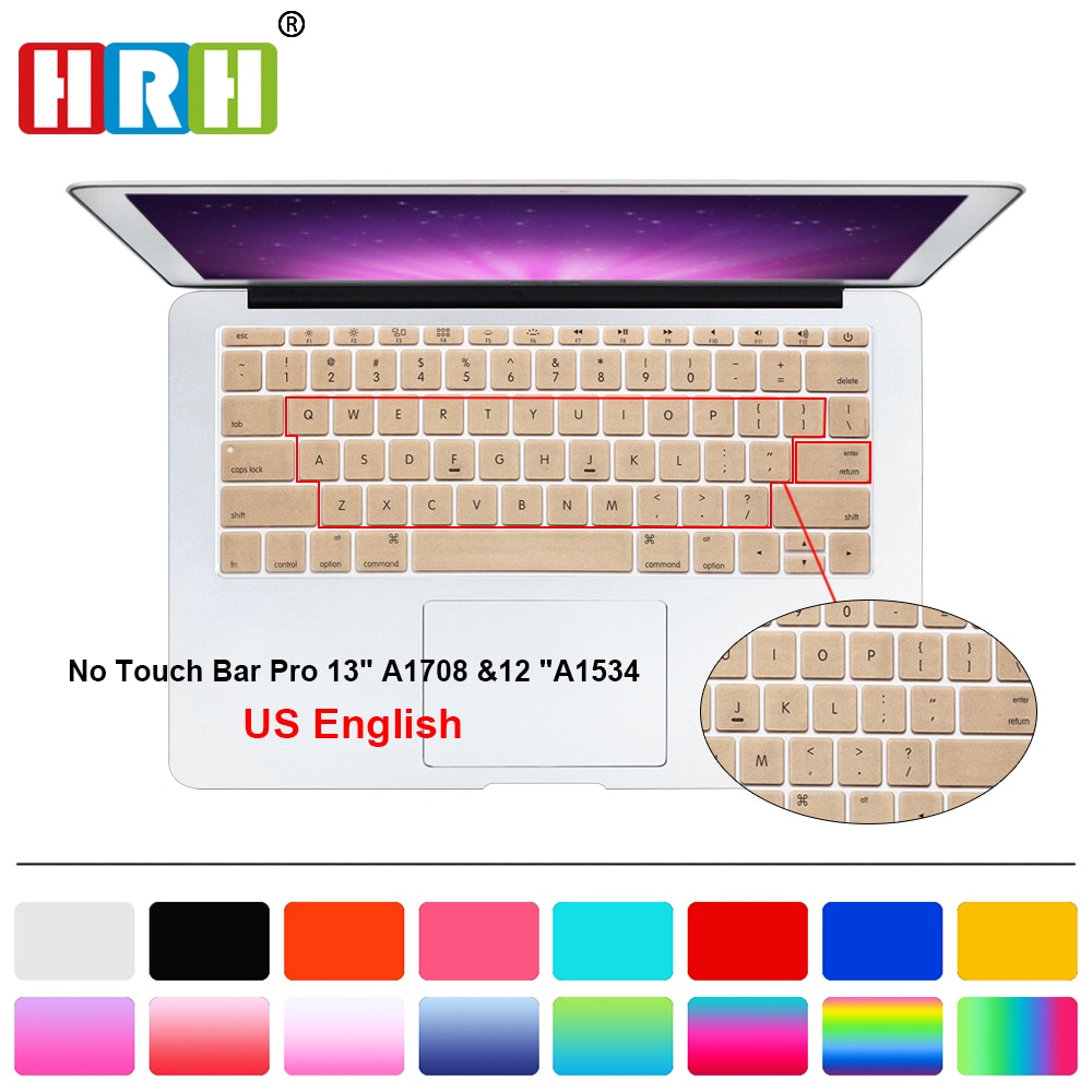HRH Color Silicone Laptop keyboard Cover Skin For Macbook New Pro 13 A1708 (2016 Version No Touch Bar) and for Mac 12 Inch A1534 https://t.co/OMFKDJ94sc #fashion|#tech|#home|#lifestyle https://t.co/rCWFCuszwM