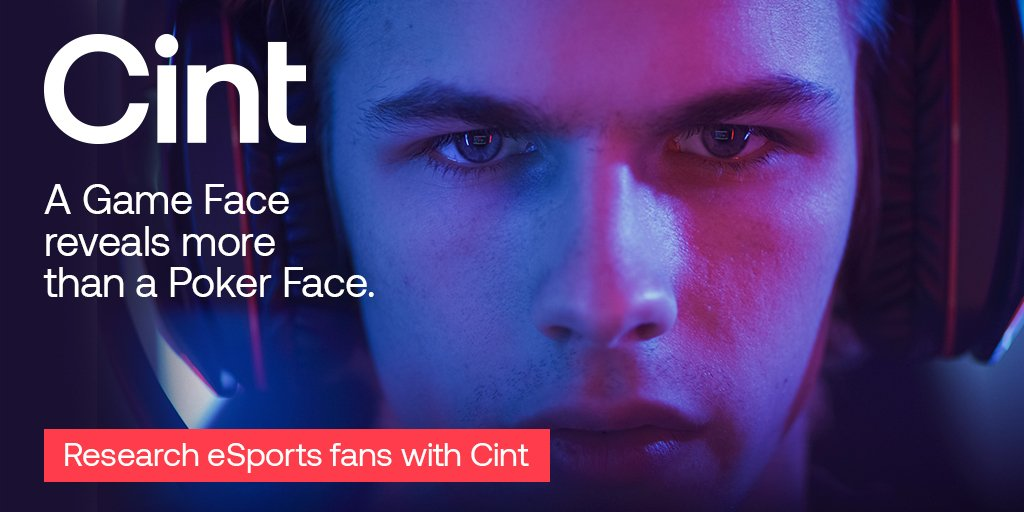 It's time to reach more #esports consumers with #insights from @CintGroup. Find out how: https://t.co/Scc5572MEY #acceleratinginsights #poweredbycint #newmr #mrx #mr #egaming https://t.co/bEkQB24lNa