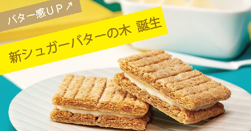 【10周年記念大ニュース‼️】代表作「シュガーバターサンドの木」が、もっと美味しくなっちゃいます!バター感アップバージョンが11月1日(日)から発売☺️