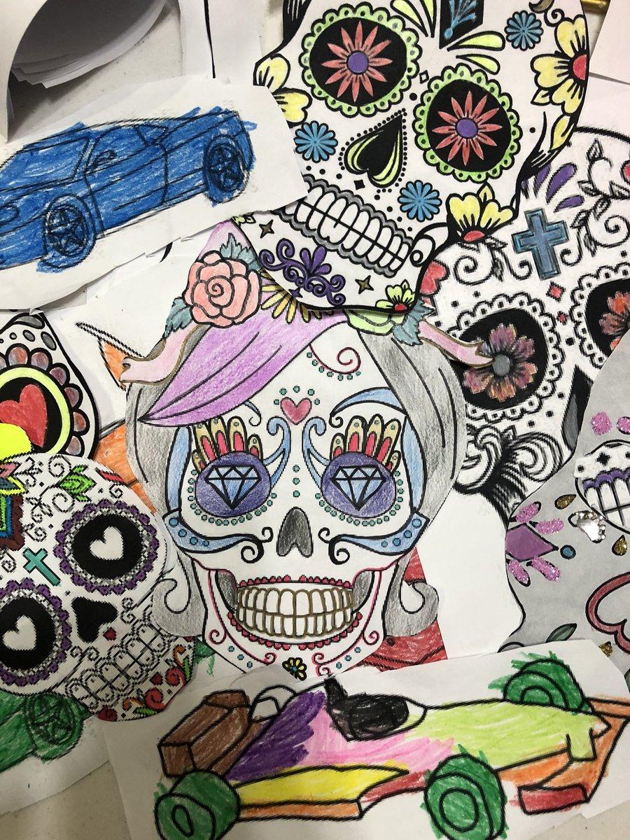 Preparando día de #muertos #elbrujodelF1 #coco #F1 #Monterrey #tattooart https://t.co/PyExx8y8BR