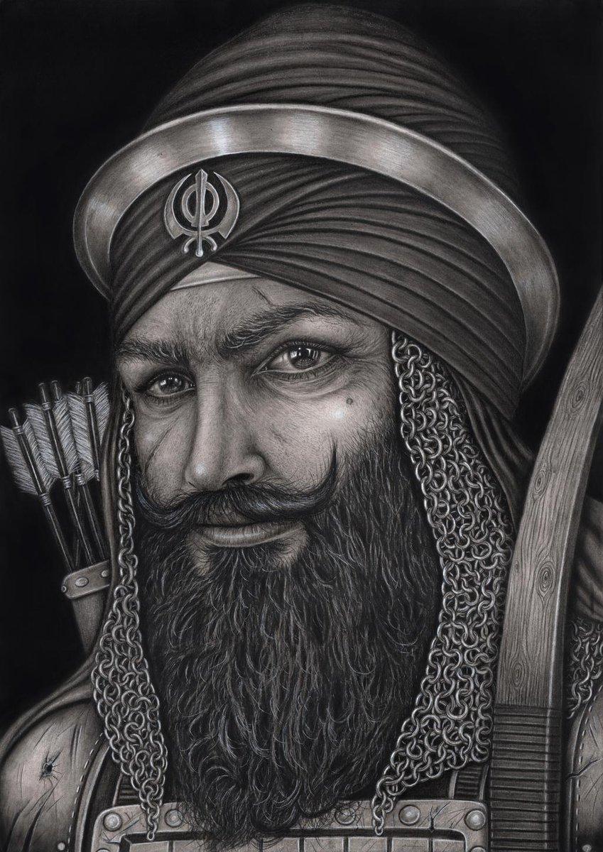 27 अक्टूबर 1670 जम्मू में जन्में वीर सेनानायक #बन्दा_सिंह_बहादुर_बैरागी जी ने मुग़लों से लोहा लेने, ज़मींदारी प्रथा समाप्त करने और ख़ालसा राज की स्थापना की  देश और धर्म के लिए अनेक अमानवीय यातनाएं सही और स्वराज की स्थापना के लिए अपना सर्वस्व न्यौछावर किया  उनकी जयन्ती पर नमन https://t.co/yjIzYhnbOQ