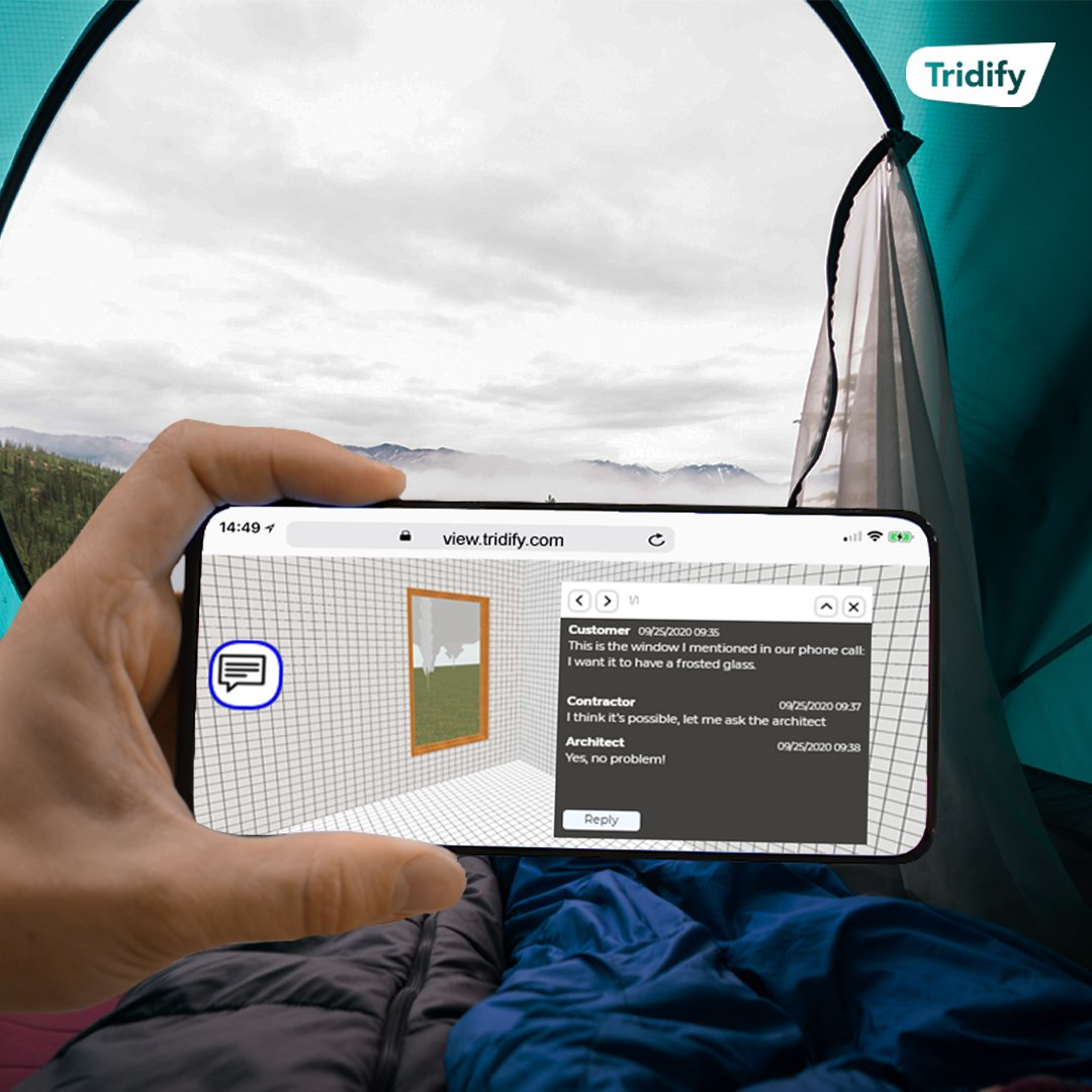 Meetings are often travelled to at great expense, both in time & environmental impact. With Tridify, all you need is an internet connection, a device, and you can work from anywhere! Learn more about our new Commenting Tool 👉 https://t.co/3wIEx9Fukc #WorkFromAnywhere #BIM https://t.co/giISMYbTI0
