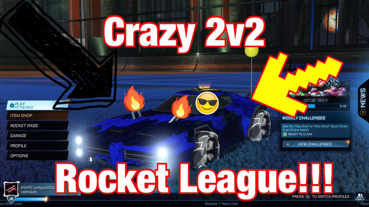 New video is out!!  #video #videogames #vídeo #videooftheday #youtube #youtuber #youtubers #youtubevideo #new #intense #forza #racingcars #racing #gameplay #duos #upload #share #funnyvideos  #topfive #crazy #rocketleagueclips #xbox #xboxone #recent #friends #microsoft https://t.co/G5Pr2SfIK0