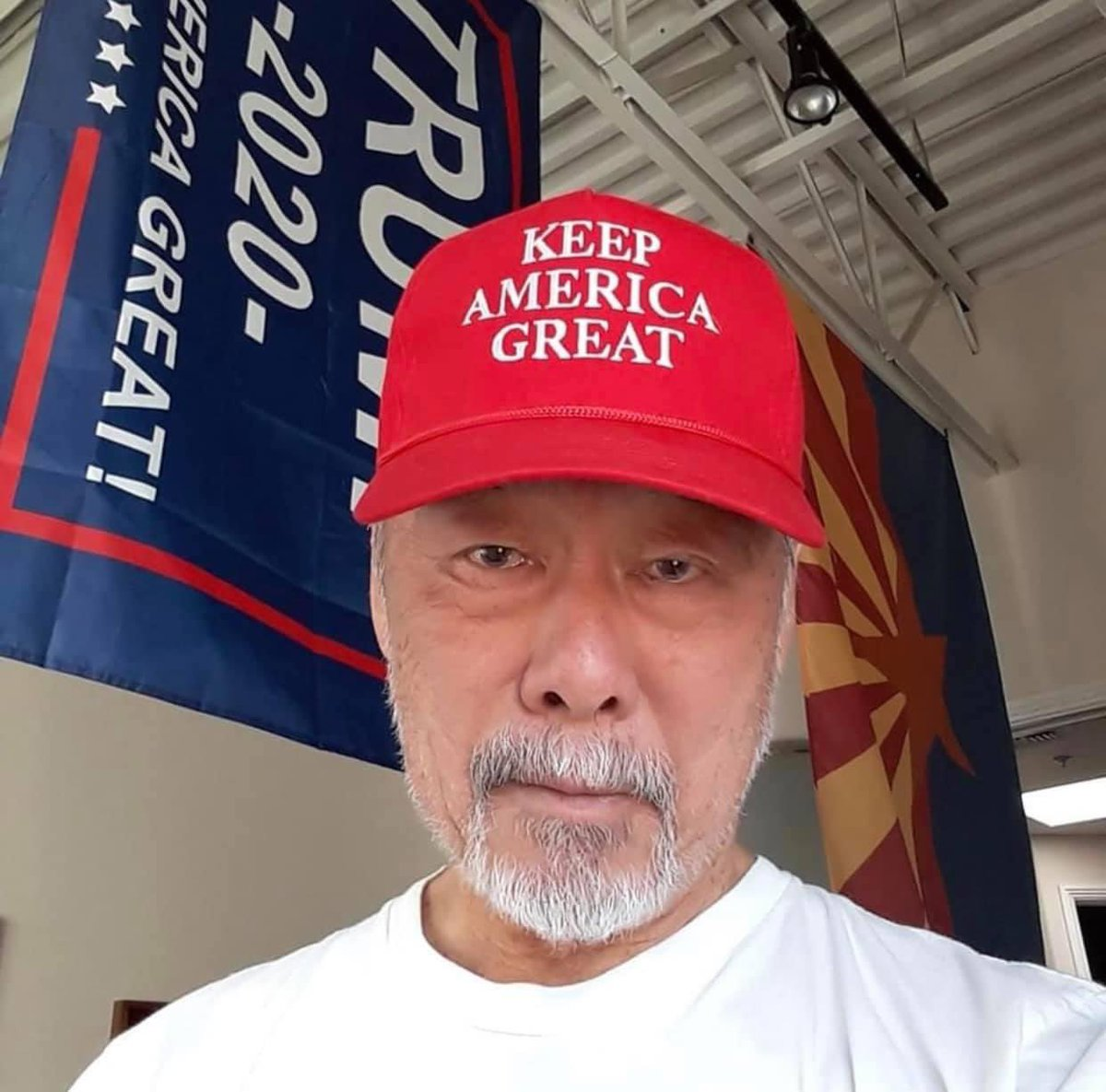 """This Paul Ng, a Scottsdale man who told two Black Men that were filming outside of his apartment that they needed to leave because they were in a """"No Nigger Zone"""" and he admitted on camera that he is a racist.  This is America.  This is the 2020.  Look who Paul supports.  #Vote https://t.co/WWv0E5RpS5"""