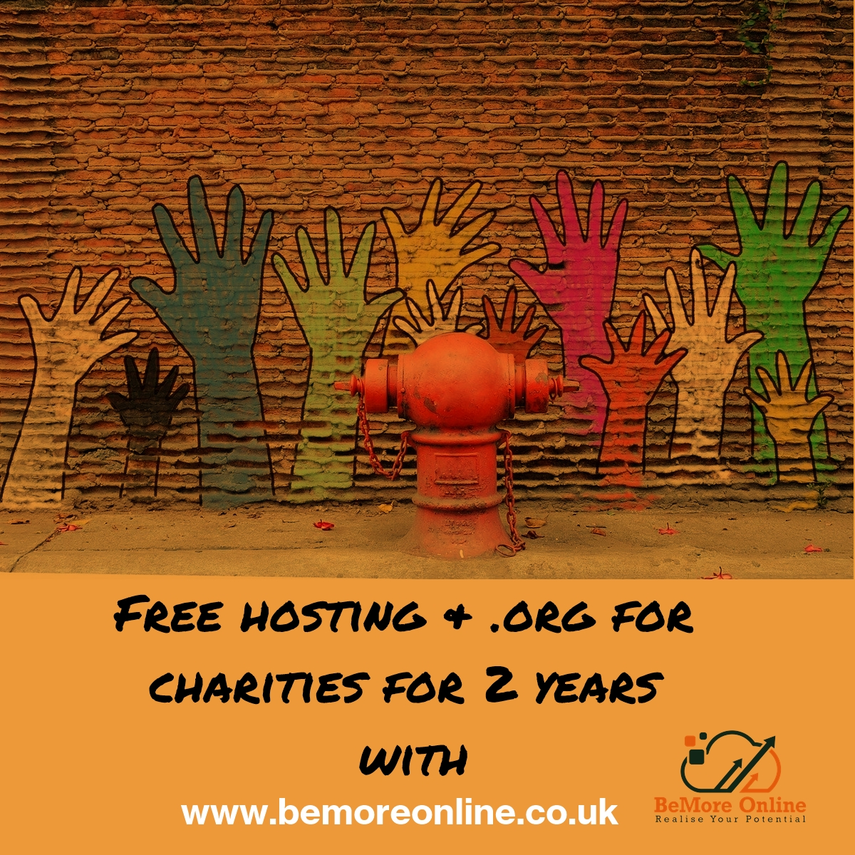 If you represent a UK charity we want to recognise and support your efforts with free hosting for 2 years and a free .org domain name for 2 years as well.  Simple☑️  Realise your potential https://t.co/FHP3o90TRf  #charity #charitywork #free #charitytuesday https://t.co/piOLFCE76l