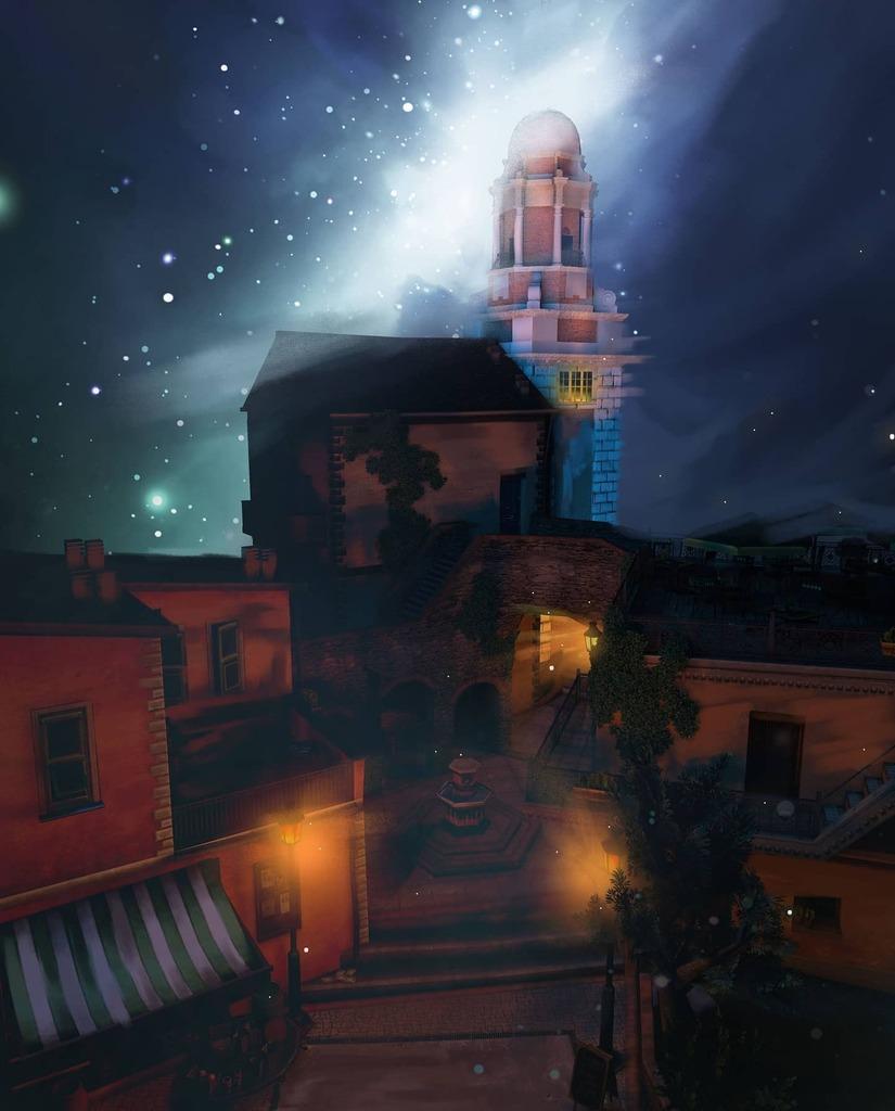 21/31   #inktober #inktober2020 #dailyart #telescope #dailyillustration #3dart  #3dartist #observatory #tower #jupiter #outpost #galileo #draw #instadaily #astronomy #physics #science #telescope #portrait #moon #pisa  ~Dark are the autumn nights Where mi… https://t.co/F7fWbHtkgE https://t.co/2Pe0ZRwRKk