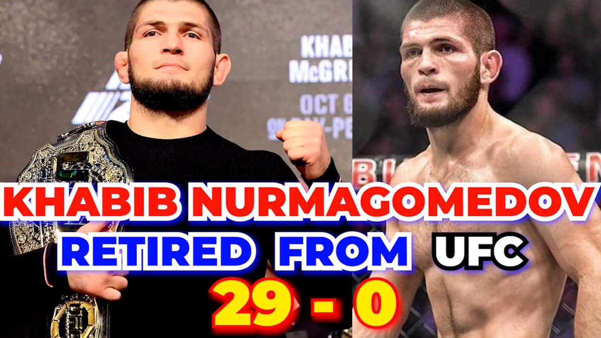 29 WINS 0 LOSES | Khabib Nurmagomedov Retired From UFC By Playing His La... https://t.co/5xwbY9htCg via @YouTube #Khabib #khabibnurmagomedov #khabibretires #khabibgaethje #UFC253 #UFCFightIsland6 #ufc https://t.co/aZEbHwXaSI