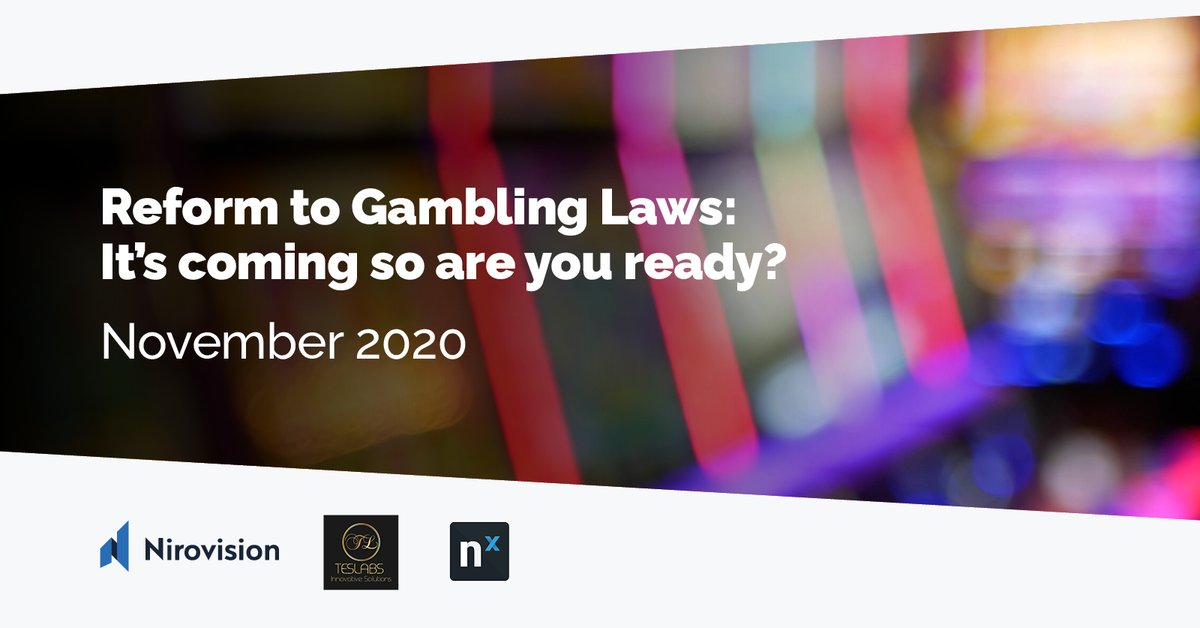 Join us, @networkoptix and TESLABS on 📌 Wed 11th Nov to learn what the NSW Gambling Reform means and ❗️ How it will impact you and your #venues ❗️ Breakdown on potential investment costs ❗️ #industry #insights pulled from research  Register 👉  https://t.co/qGKAkJ9veX https://t.co/KoyQmS4C71