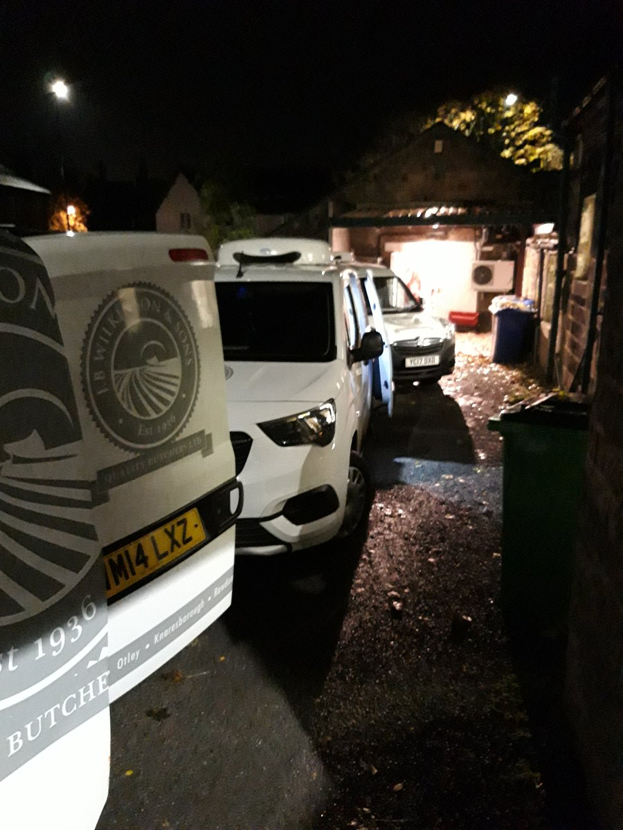 All Van's loaded and ready for a busy Tuesday #meat #butcher #shoplocal #localmeat #Otley #Ilkley #Wetherby #Rawdon #Knaresborough #Bramhope #Yorkshire #Leeds https://t.co/gftUlNILzK
