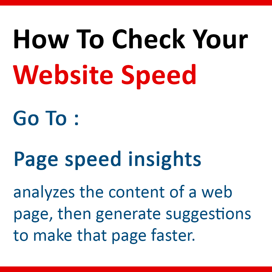 How to check your website speed?  #website #speed #websiteoptimization #digitalmarketingservices  #onlinemarketing #insights #web #optimizaion #onsite https://t.co/3EBRQFbE4J