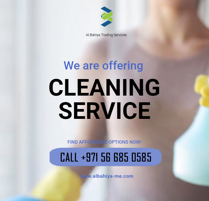 Our services : •Internal &External cleaning  •Duct cleaning  •Pest control •packing &shipping services   Call now to book an appointment    +971 56 685 0585 #cleaningtips #homecleaningservice #housecleaningservice #housekeeper #UAE #abudhabi #dubai #alain https://t.co/vTCzjVdh9V