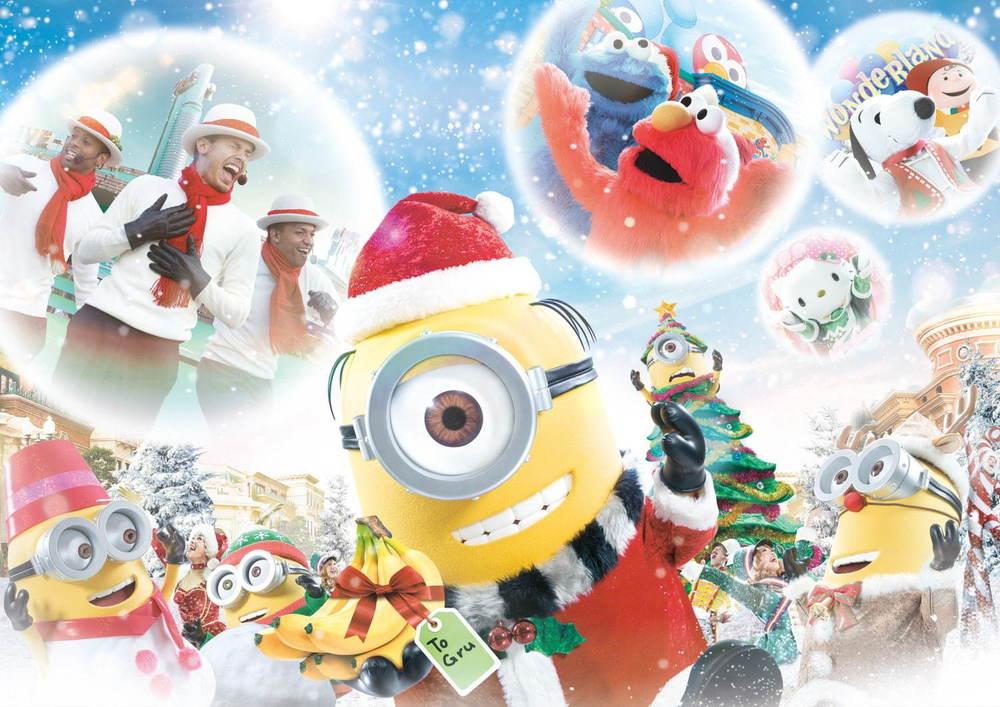 USJのクリスマス2020 - セサミストリートやピーナッツの特別ステージ、限定ミニオングッズ&フードも -