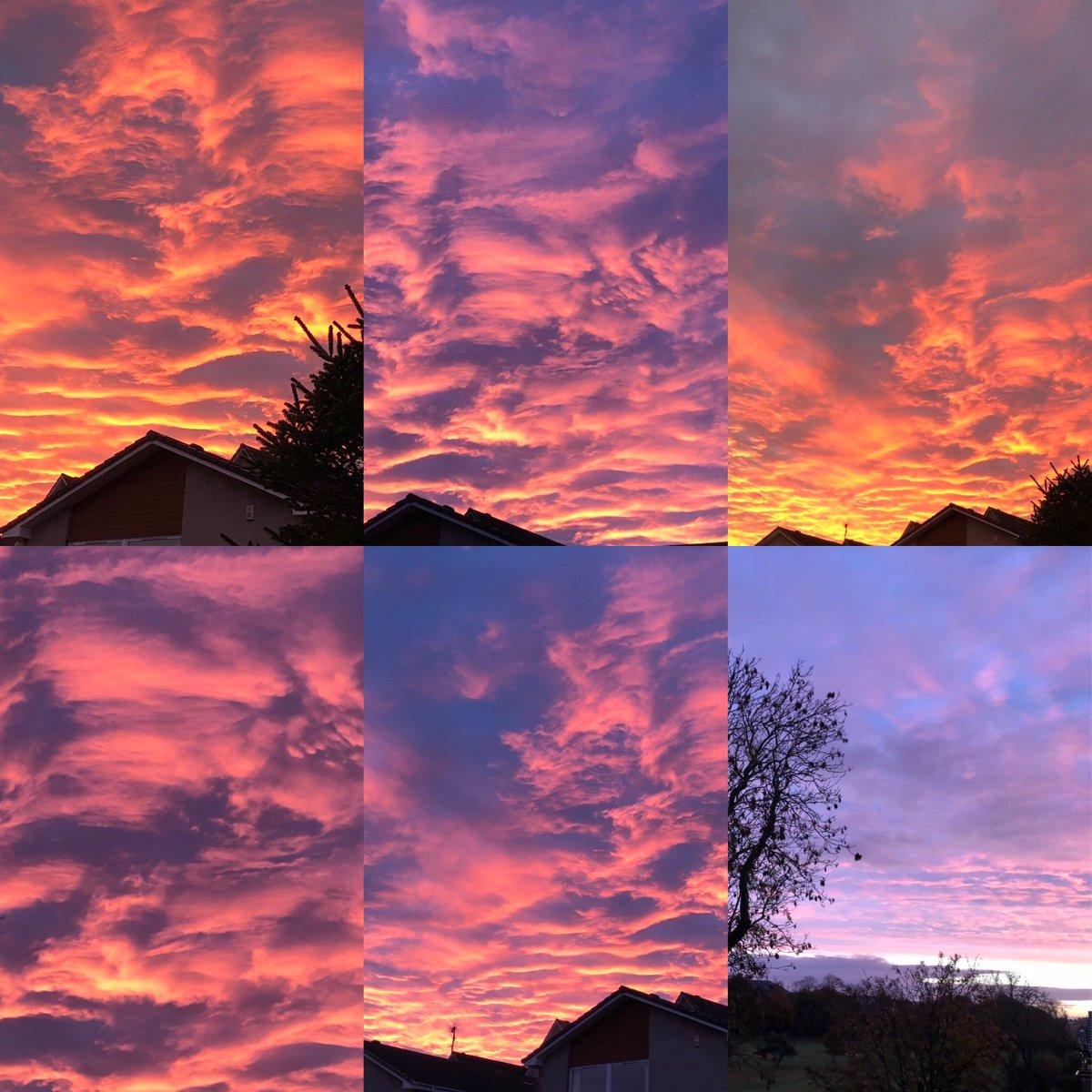 How amazing was the sunrise this morning?! 🤩 #sunrise https://t.co/mEgIrCVvEP