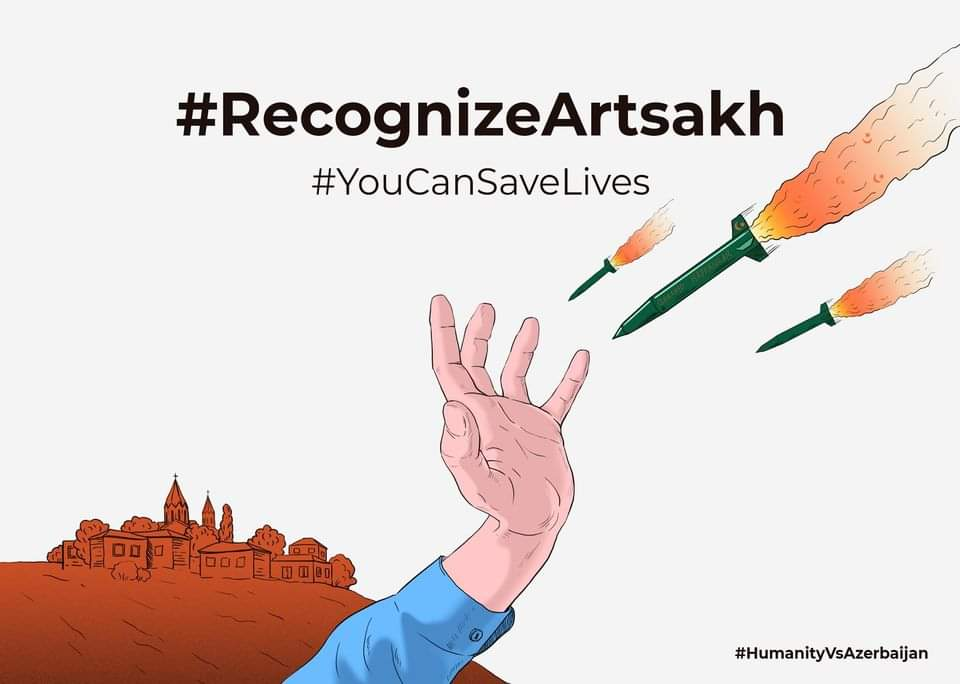 "The unrestrained behavior of the #Azerbaijan-#Turkey criminal alliance is due to the lack of harsh criticism by the intl community.This criminal alliance should ASAP be ""freed"" from the feeling of impunity that costs hundreds of lives #StopAzerbaijaniAggression #RecognizeArtsakh https://t.co/q94omo42eD"