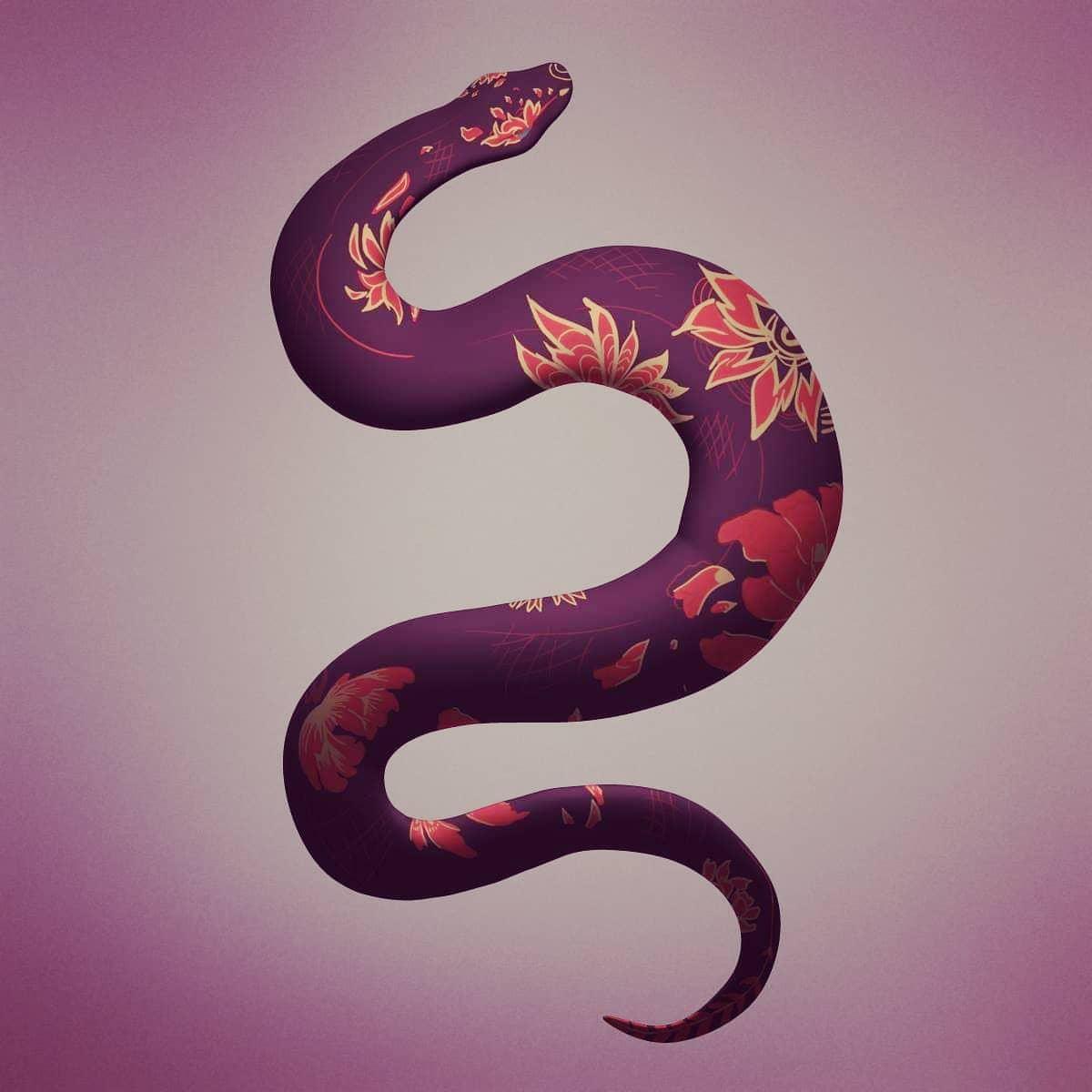 Day 26 of #sculptober2020 #extend - a gorgeous snake. Original concept by Avril Jullien on Artstation #3d #3dart #3dmodel #zbrush #zbrushsculpt https://t.co/lqXY3pJqIx
