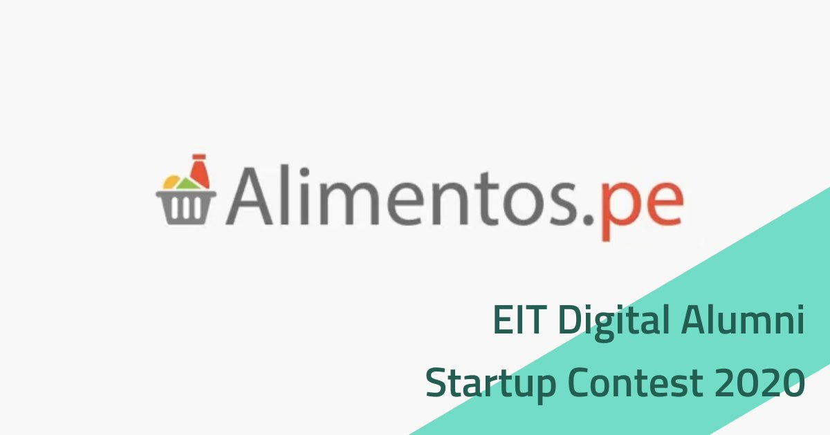 #digitalumni #StartupContest 2020 participant #Alimentos 🤩 a #location-based online #marketplace linking local grocers and #delivery drivers for a better #groceryshopping experience 🥕🥦 Watch their #pitch video 👏 https://t.co/6SnhdnGKtX  #startupfounders #EITDigital https://t.co/48b08BBMjI