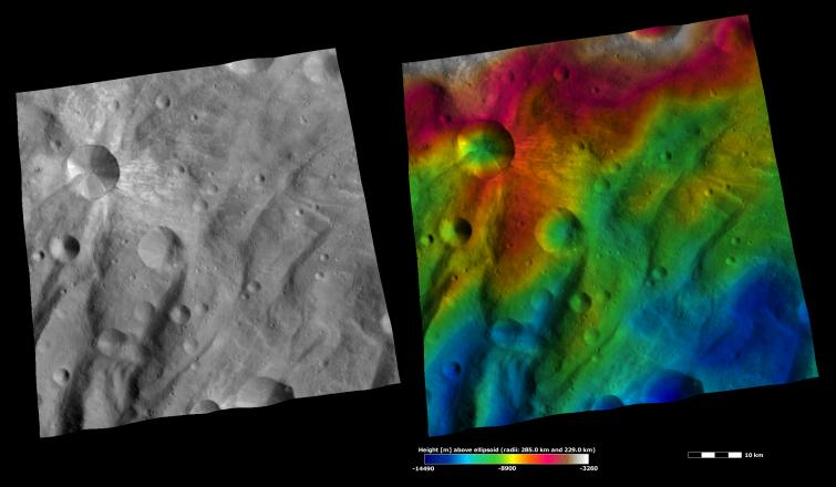 Apparent Brightness and Topography Images of Canuleia Crater https://t.co/FAVHZ5mwyS https://t.co/dVlA1wP2MF