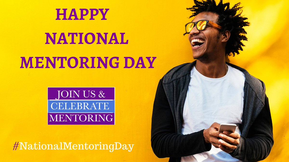 We have something to smile about TODAY is #NationalMentoringDay where we shine a light on all the amazing #mentors & #mentoring changing lives and #makingadifference #Mentoringneverstops. https://t.co/CfLVtG5vuc