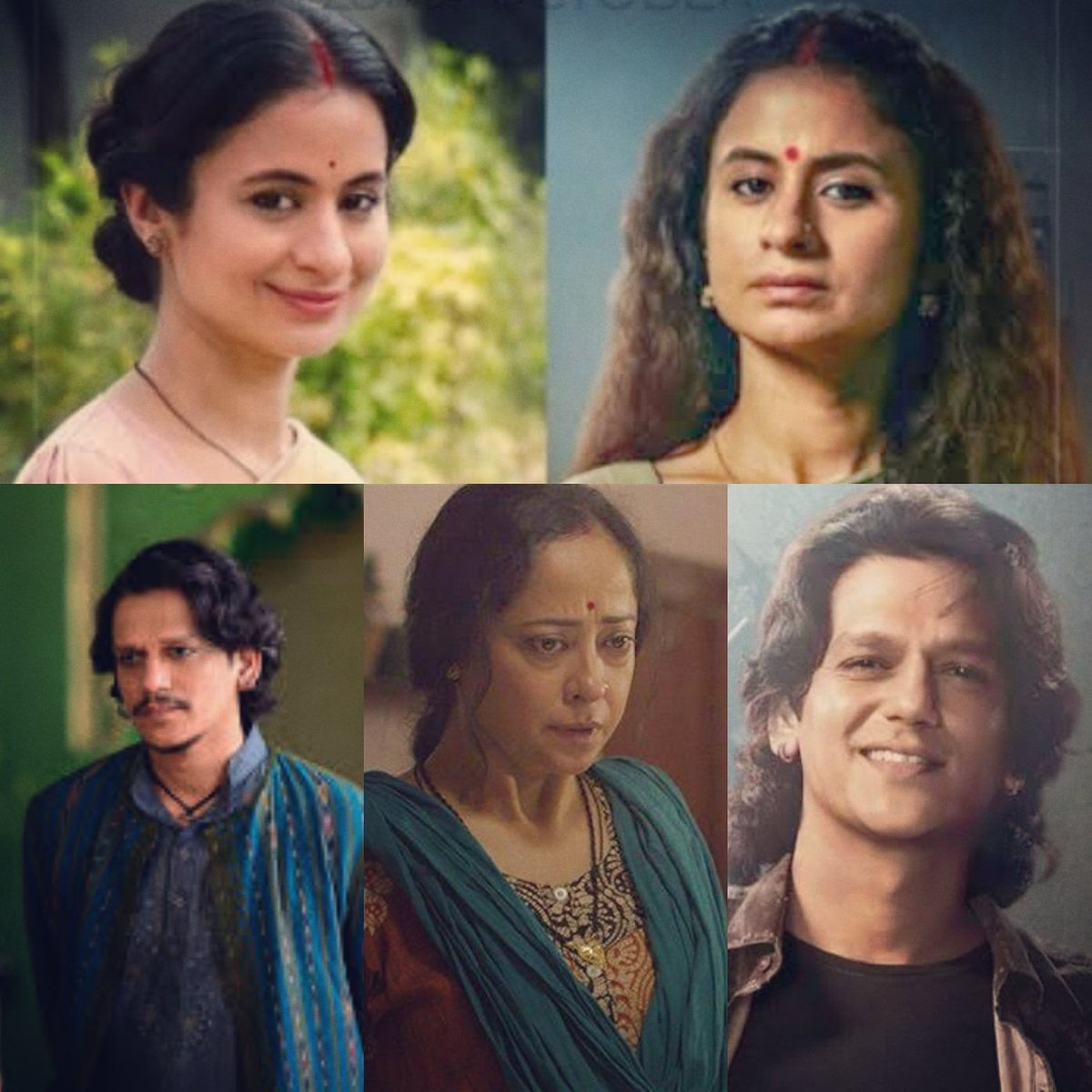 3 actors are common to #ASuitableBoy and #Mirzapur2 @RasikaDugal @MrVijayVarma & #SheebaChadha. That difference in their characterisation and performance is a mark of the flexibility & versatility that streaming platforms offer to artistes & viewers. @PrimeVideoIN @NetflixIndia