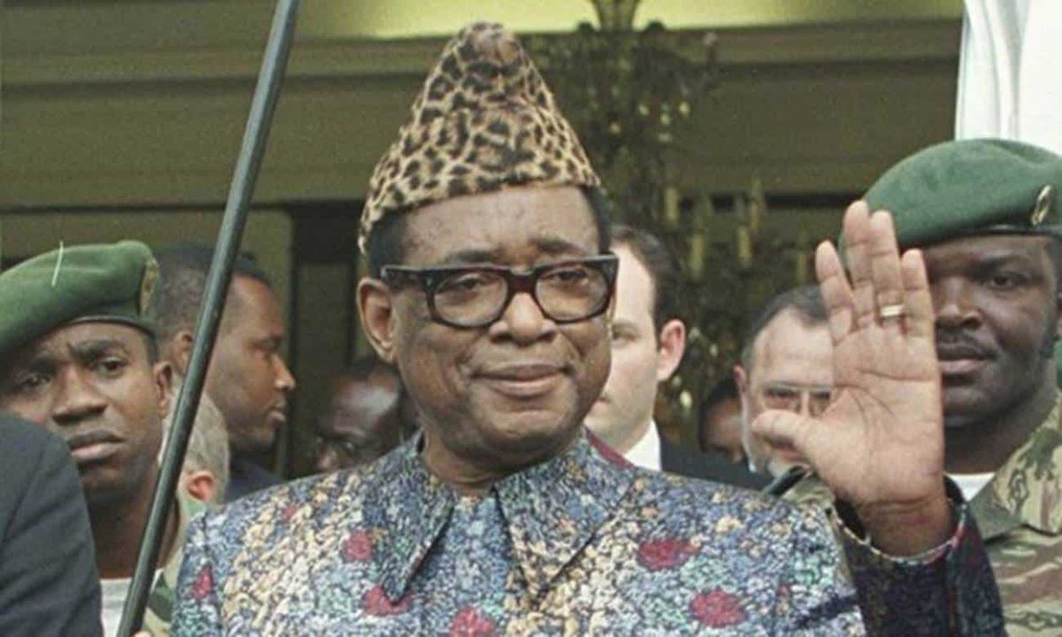 #TodayInAfricanHistory - October 27 On this day in 1971, DR Congo was renamed to Zaire (a past name for the Congo River) by President Mobutu Sese Seko as part of his Authenticité initiative. The name was restored in 1997 following Mobutu's fall. #africahistory #africa #politics https://t.co/VzgK5nCWiZ