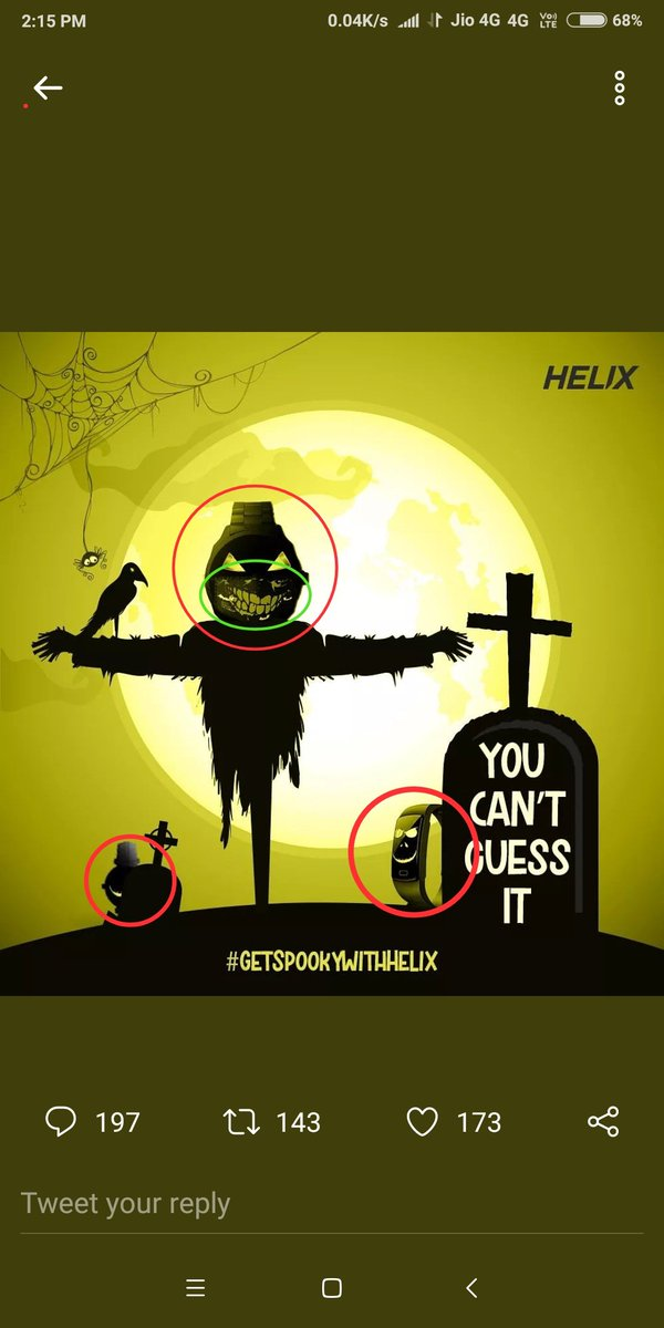 @Helix_Watches In total there are 3 Helix Watches and 1 Halloween Mask. I have find all the helix watch and Halloween mask. Hope to win ✌✌   @Helix_Watches   #GetSpookyWithHelix  #Giveaway #GiveawayAlert  #Contest #HelixWatches #HelixIndia  #ContestAlert #Halloween2020 https://t.co/MX0OZSFIkY