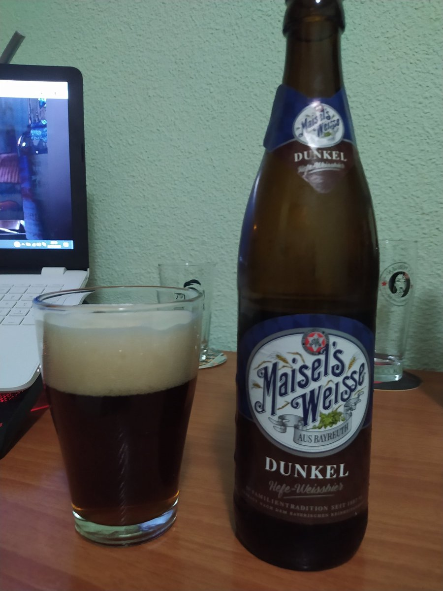 Maisel's weisse Dunkel jefe weissbier #craftbeer #beer #cerveza https://t.co/aoTbzHKJbH