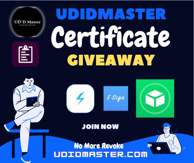 Start soon..... #udid #certificate #Giveaway https://t.co/aMVEwyJyOA