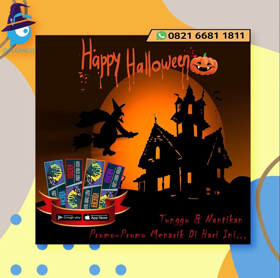 WOW siap-siap,  Ocleanco akan bagi-bagi hadiah loh buat kamu di hari Halloween 🎉🎃👏 Buruan download aplikasi Ocleanco. Pantau terus dan jangan lupa kasih tau ke teman-teman dan kerabat-kerabatmu yang lain. Untuk follow  #happyhalloween #Giveaway #Halloween #AMAs #ProtonX50 #ac https://t.co/o1j8Sf9Bwh