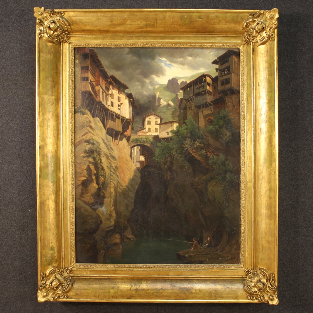6800€ Antique signed French painting village view from 19th century - cod 9134 https://t.co/ENPo1uxihu #FORSALE #paintingforsale #antiques #antique #antik #antichità #antiqueshop #antiquariato #antiquestore #antiquario #designinterior #antiqueshopping #oldmasters #landscape https://t.co/50gfDe33Sr