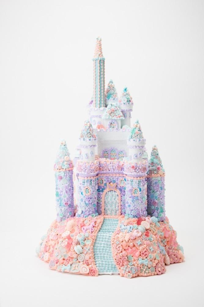 """渡辺おさむ展「お菓子の街」自由が丘で、""""本物そっくり""""なお菓子の城やスイーツだらけのユニコーン -"""
