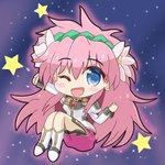 Image for the Tweet beginning: ギャラクシーエンジェルのミルフィーユ・桜葉を描きました。#ギャラクシーエンジェル。#ミルフィーユ・桜葉