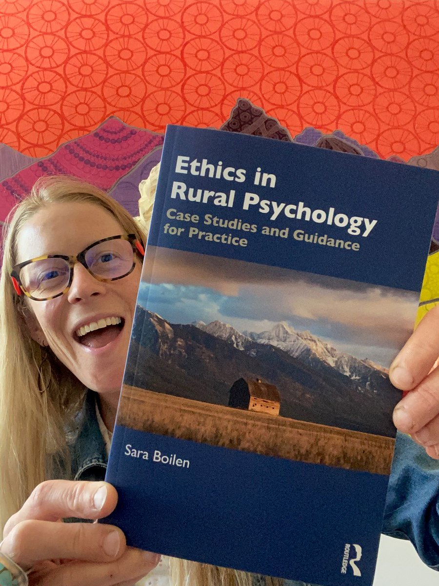 If you're a practitioner in a rural area, Dr Boilen's recently published book is the perfect guide. Get your copy here: https://t.co/eqFITDgHWZ #ruralAmerica #ruralpsychology https://t.co/bXVhp5DArK