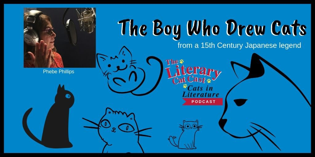 ➡️ https://t.co/6C7UIL0DJu 🧡 Almost #Halloween, how about a #creepy #cat story from a Buddhist Temple? The 15th Century Legend, The Boy Who Drew Cats. #podcast #cats Visit TheLiteraryCatcast(dot)com. #Caturday #audiobooks #writers  🧡🐈📚🎧 #TuneIn https://t.co/U7XvHFunG9