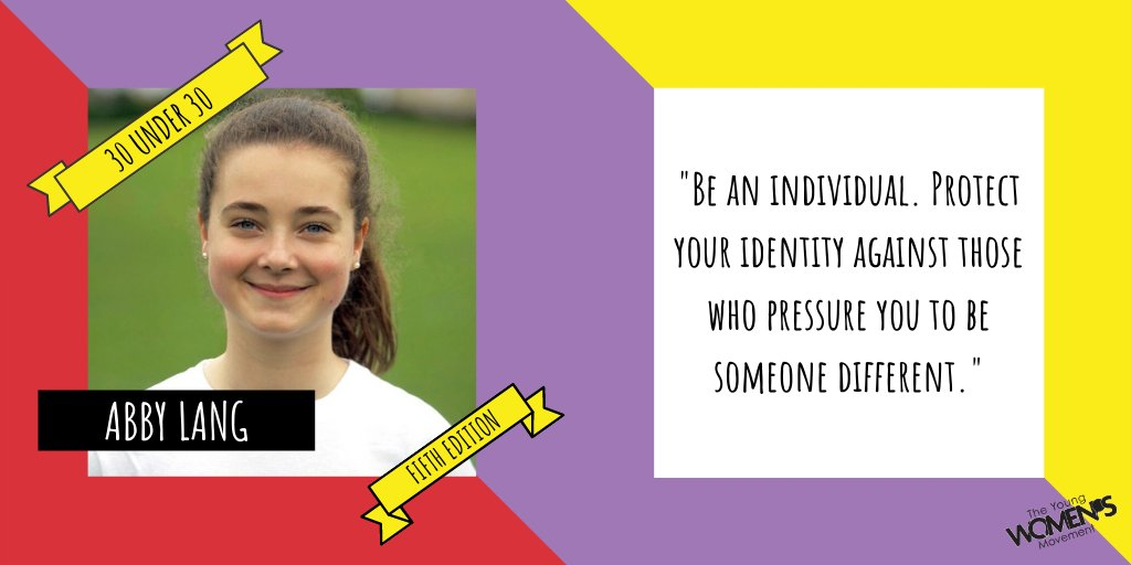 Our final Friday profile is the fantastic @AbbyLang__! Volunteer for @CRY_UK @iwill_campaign and @IWillScotland, Abby is also a medical student!