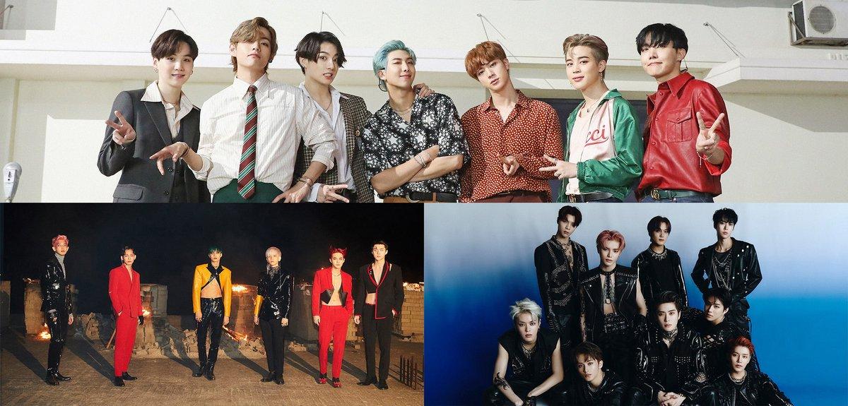 #BTS, #EXO et #NCT127 nominés aux American Music Awards 2020 https://t.co/06kTw924rt https://t.co/0mSclEkbIj