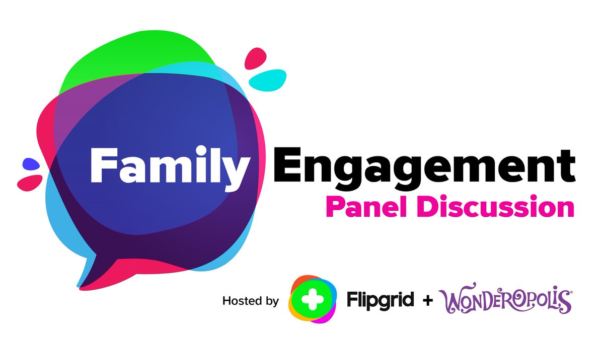 Join us TONIGHT with our friends at @Wonderopolis for a panel discussion on including families in your learning!  📅 Tuesday, October 27th ⌚ 8pm EST  Set a reminder and watch here: https://t.co/OcFCshr3ZG…  #FlipgridForAll 💚 https://t.co/5prNPWDGWC