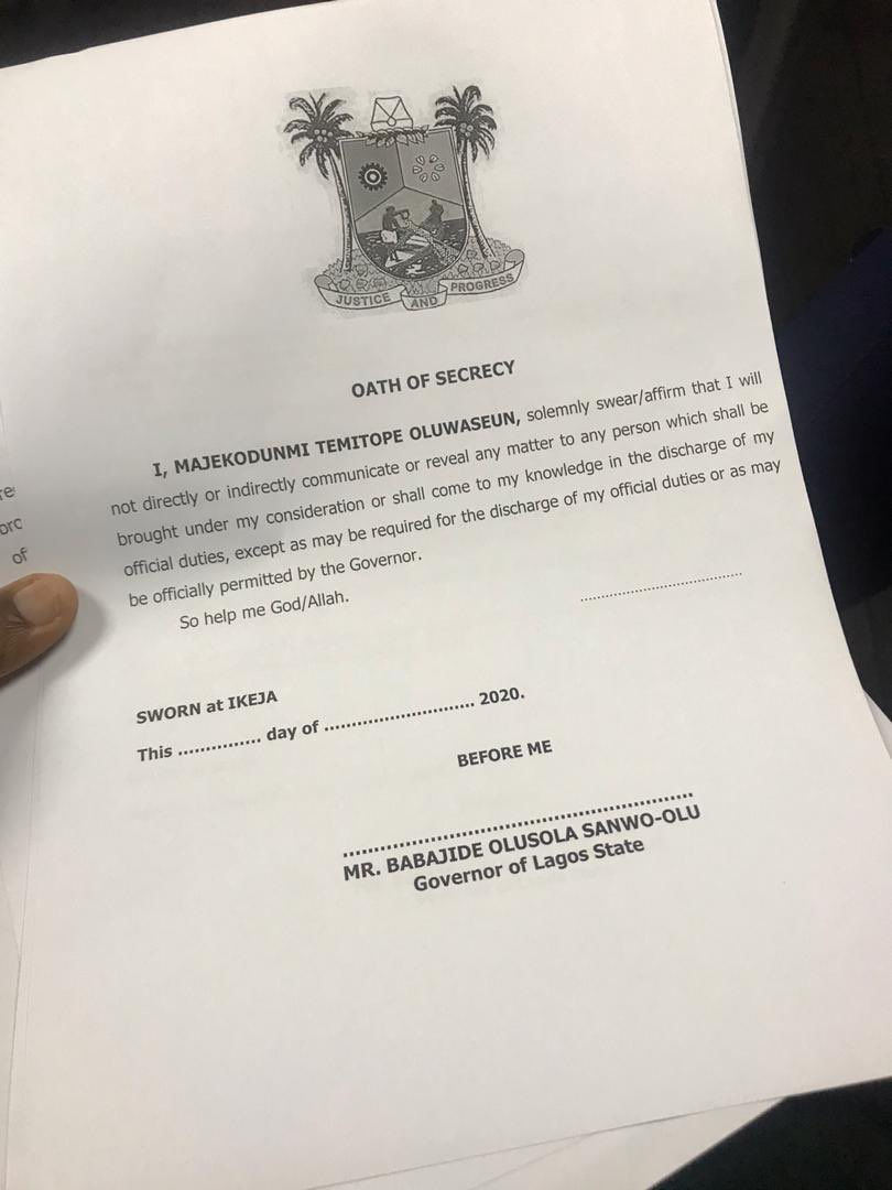 Hey people , what are your thoughts on the oath of secrecy proposed on members of the panel of inquiry 🧐?