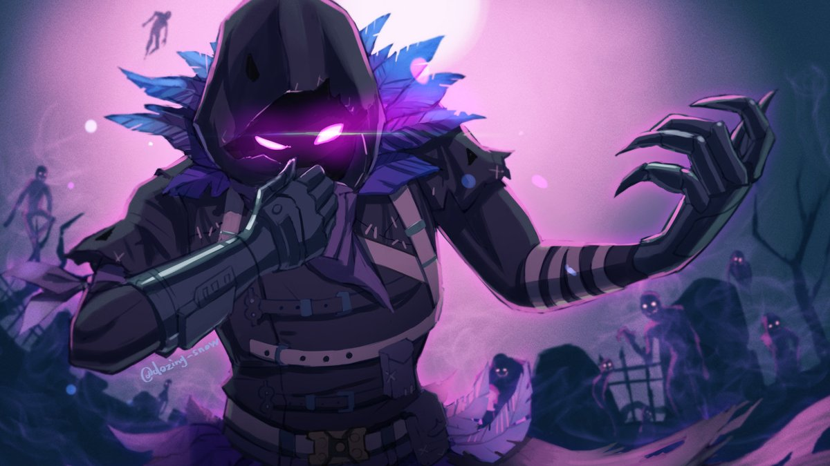 RT @dozing_snow: #Fortnite #FortniteArt #フォートナイトイラスト #フォートナイトメア Raven https://t.co/2X3RuGxcsr