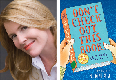 test Twitter Media - Welcome Kate Klise to our Virtual Book Tour! Visit our blog to hear the author talk about her new pun-filled middle grade novel, Don't Check Out This Book! A peek inside the book and teaching resources are included.  https://t.co/SgZm3uty3h @kateklise @AlgonquinYR https://t.co/VphIcMXIvf