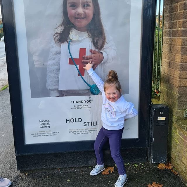 Last week the Hold Still community exhibition arrived in towns and cities across the UK. Since then, we have seen so many photos of the portraits across the country, and wanted to share some of those touching images. (1/2) https://t.co/1DzOVWEopm