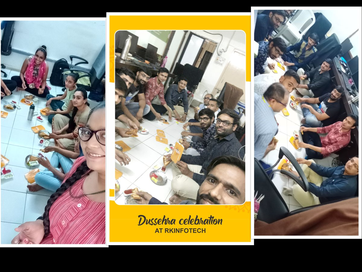 Dussehra Celebration 2020 at @RKInfotech1 !!!  #happydussehra #vijayadashami #festivalcelebrations #celebrations #dussehracelebration #dussehraspecial #dussehragreetings