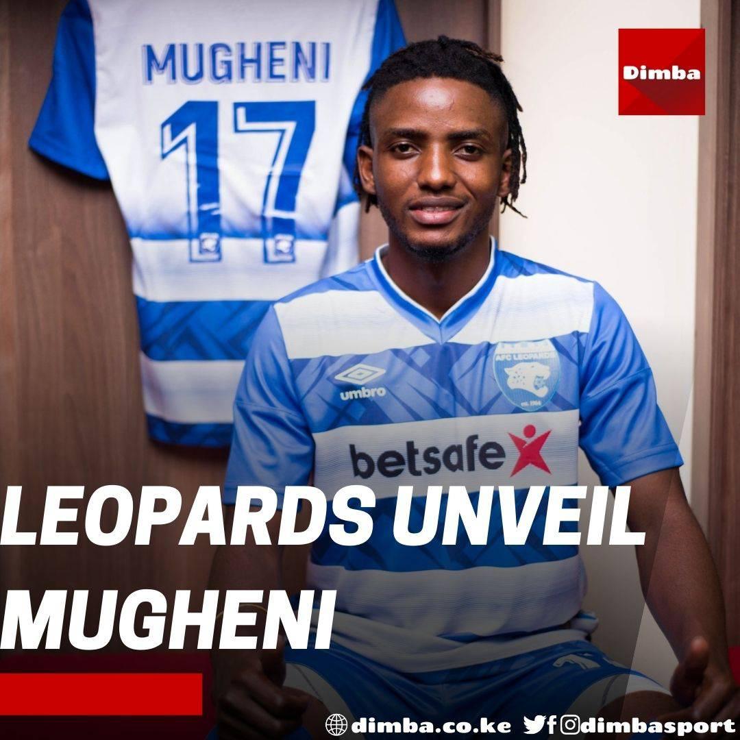 AFC Leopards officially unveil DR Congo forward Fabrice Mugheni https://t.co/sNAgek6087