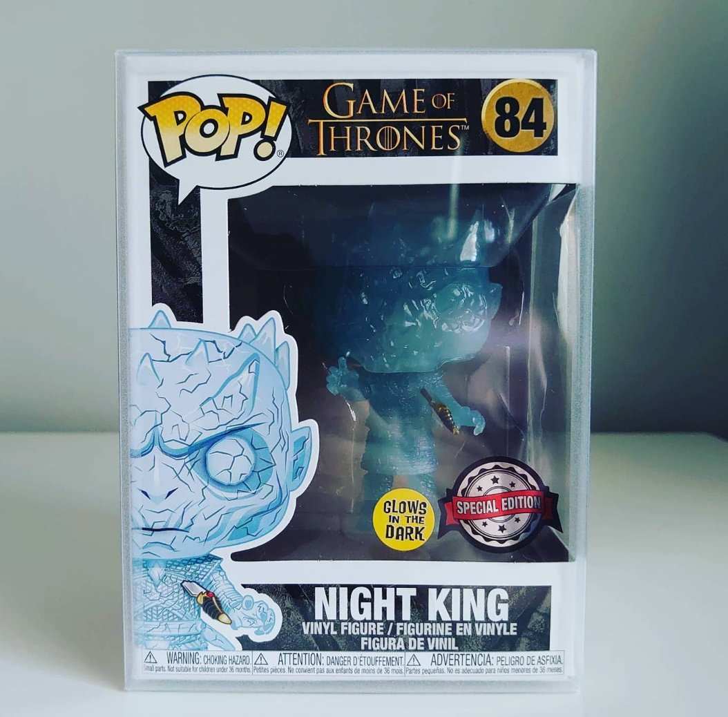 I'm honestly loving these @ThingsVinyl glow protectors, They go incredibly well with full glow pops 😍  Available to order on their site. They also ship to the US. https://t.co/VhsCE525yb #funko #funkopop #funkocollector #popvinyl #popprotector #gitd #nightking #gameofthrones https://t.co/MYOUXaJkov