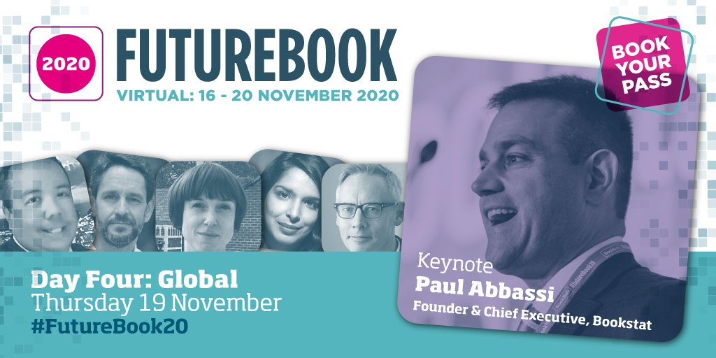 #FutureBook20 DAY 4 looks at the question When the world shuts down, how do we stay connected?... Our answer? Go GLOBAL. Featuring Keynote Paul Abassi, Tom Weldon, @anitasethi, @of_Mice_andChen, @helenconford and @SPalazzi! See the full lineup here: bit.ly/2IQd5Ii