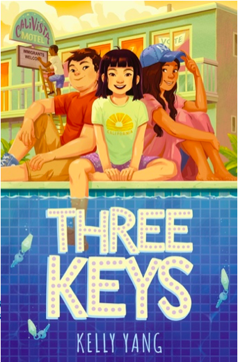 Mia is an extraordinary character, full of heart and courage, and I hope, that through her story, young readers will see the true power in using their voices, @_KnightsOf takes two from @kellyyanghk, starting with Front Desk! More here: bit.ly/2JaTKWx