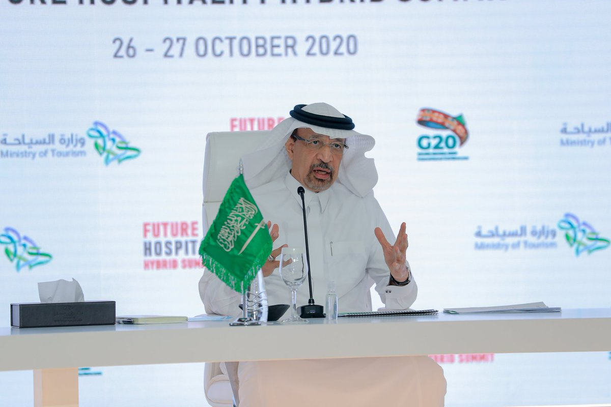 """""""The Kingdom has been open for #investment since the 1930s, we have a remarkable record and MISA is here to address the needs of all investors.""""  H.E. @Khalid_AlFalih on #SaudiArabia's strong investment landscape at the @FuturHospSummit today https://t.co/4CHpBBeK8N"""