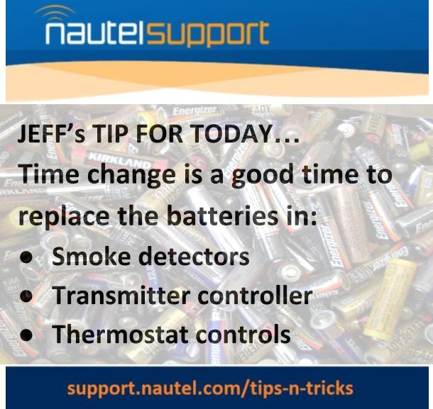 Tuesday's Tip to help you keep things running smoothly at your station. Find more at https://t.co/JeDqI74qeC #broadcast https://t.co/AtNppgSJmZ