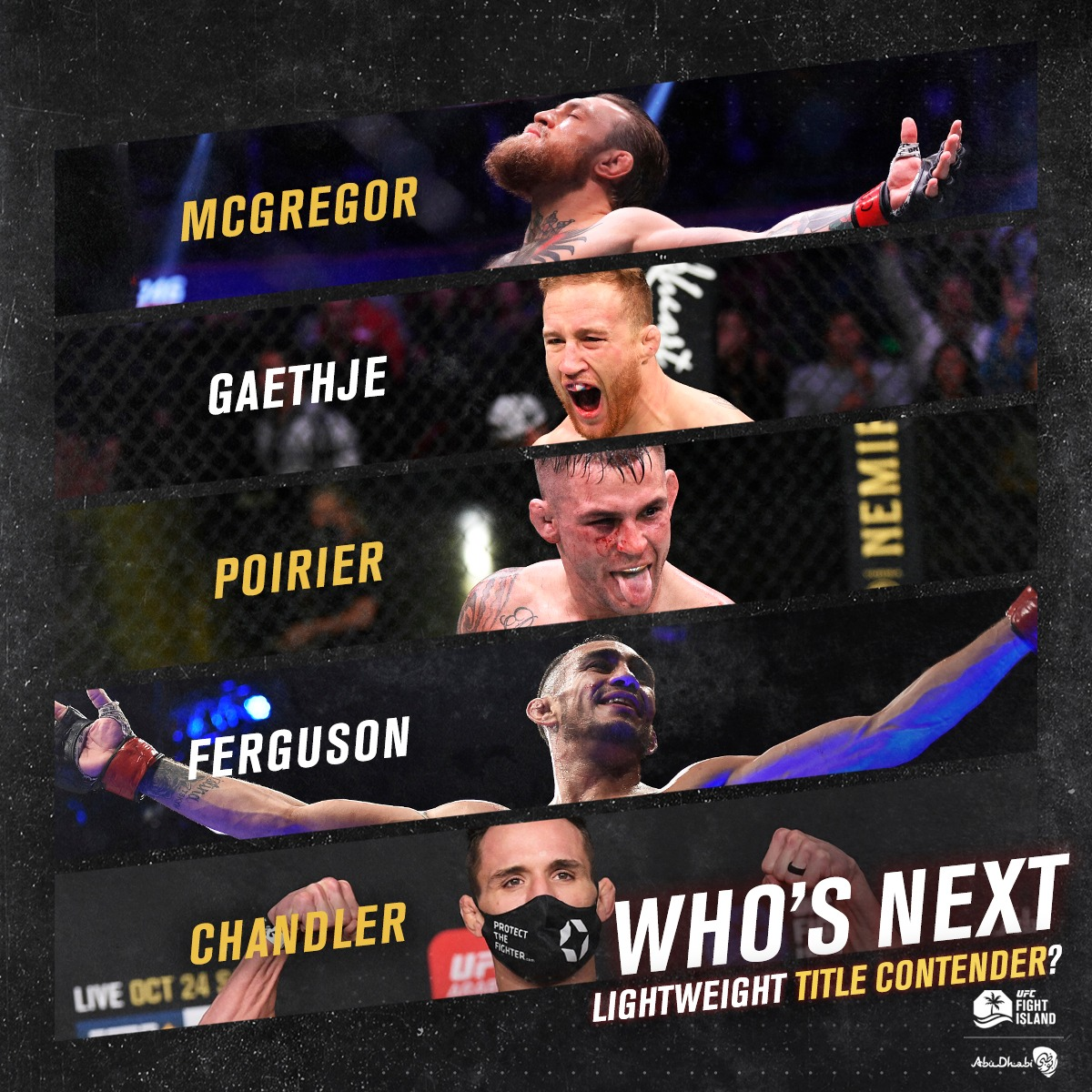 Who will be the next lightweight title contender❓ https://t.co/S0nb06U4qX
